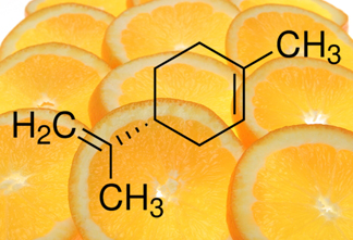 Molecules of limonene