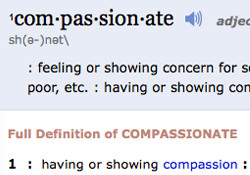 Definition of Compassion