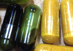 magic pills, cannabis oil and turmeric